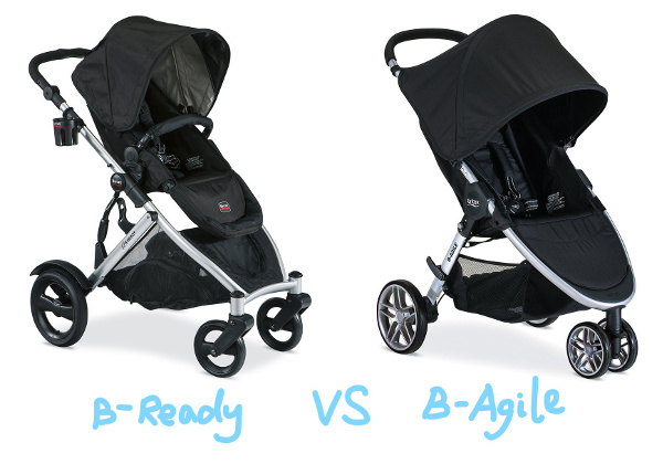 britax b ready vs b agile strollers baby gear centre. Black Bedroom Furniture Sets. Home Design Ideas